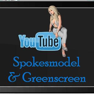 Spokesmodel & Greenscreen